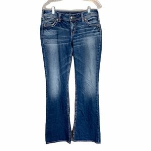 Silver Jeans Suki Mid Boot Size 30